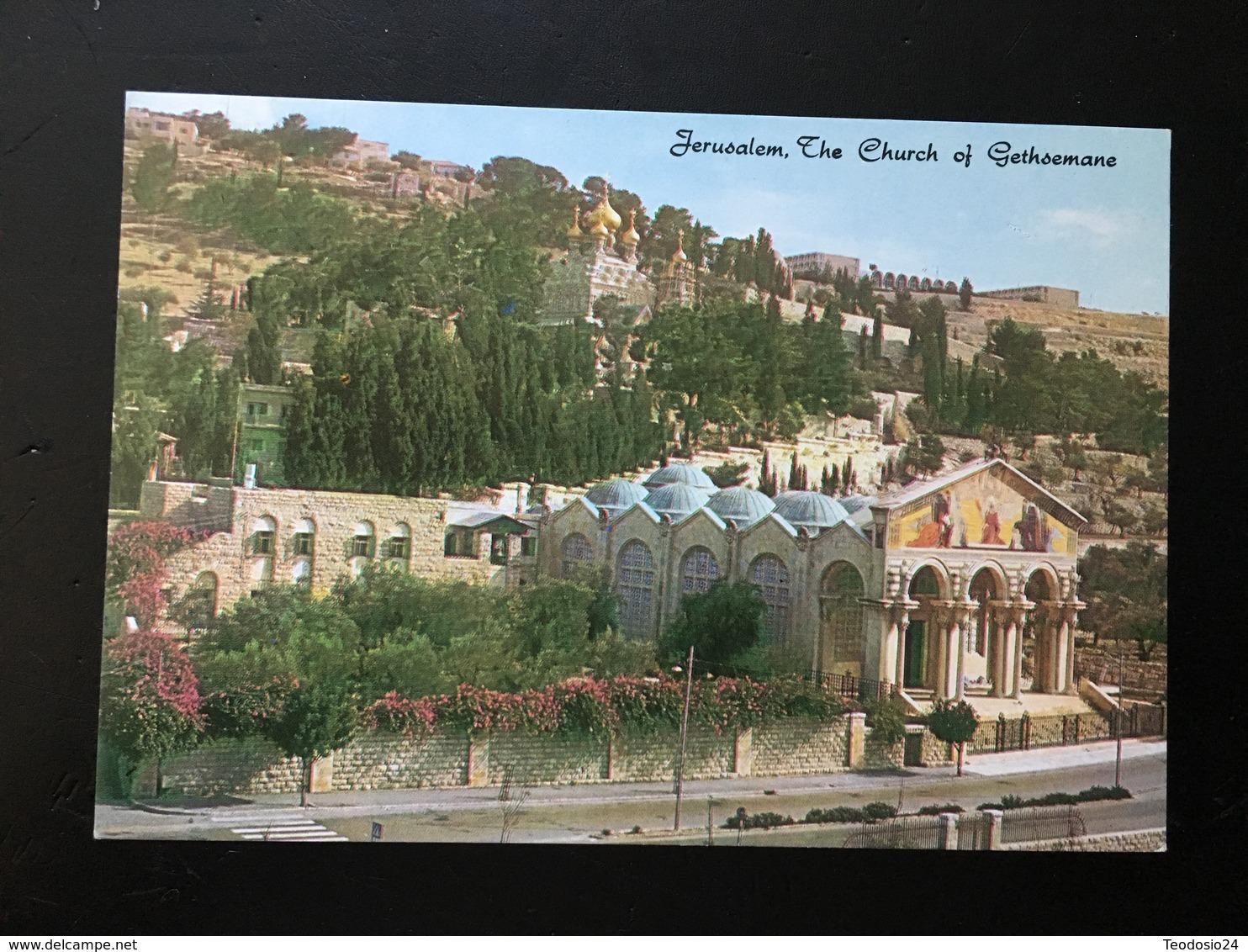 Israel Jerusalen Iglesia De Gethsemane - Israel
