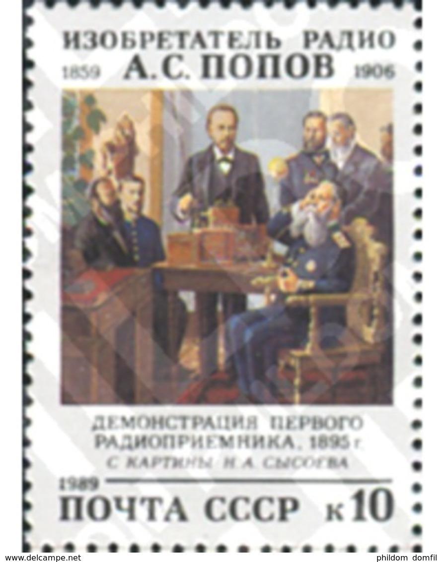Ref. 358046 * MNH * - SOVIET UNION. 1989. FAMOUS PEOPLE . PERSONAJE - Ungebraucht