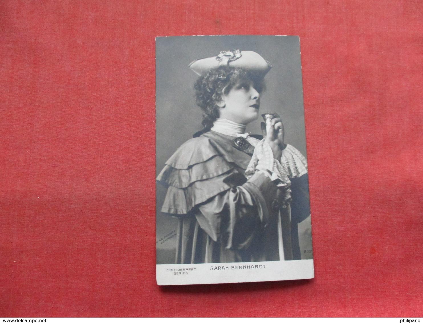 Rotograph Series  Sarah Bernhardt     Ref 3347 - Famous Ladies