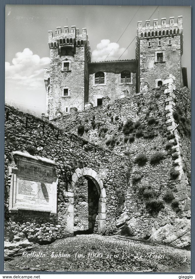 °°° Cartolina N. 68 Collalto Sabino Le Torri Nuova °°° - Rieti