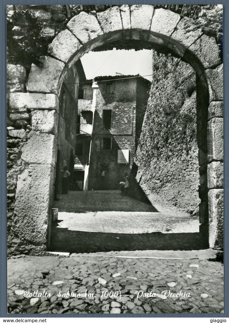 °°° Cartolina N. 69 Collalto Sabino Porta Vecchia Nuova °°° - Rieti