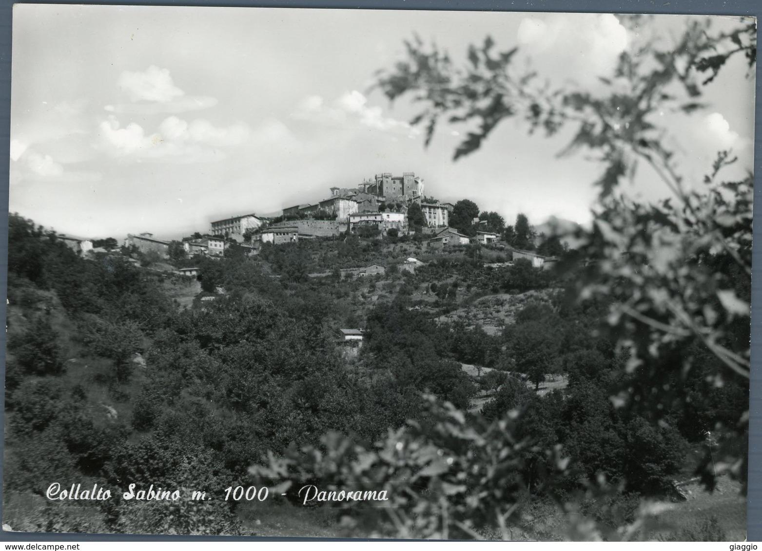 °°° Cartolina N. 76 Collalto Sabino Panorama Nuova °°° - Rieti