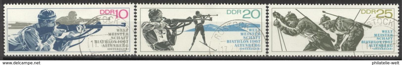 DDR 1251/53 O Tagesstempel - [6] République Démocratique