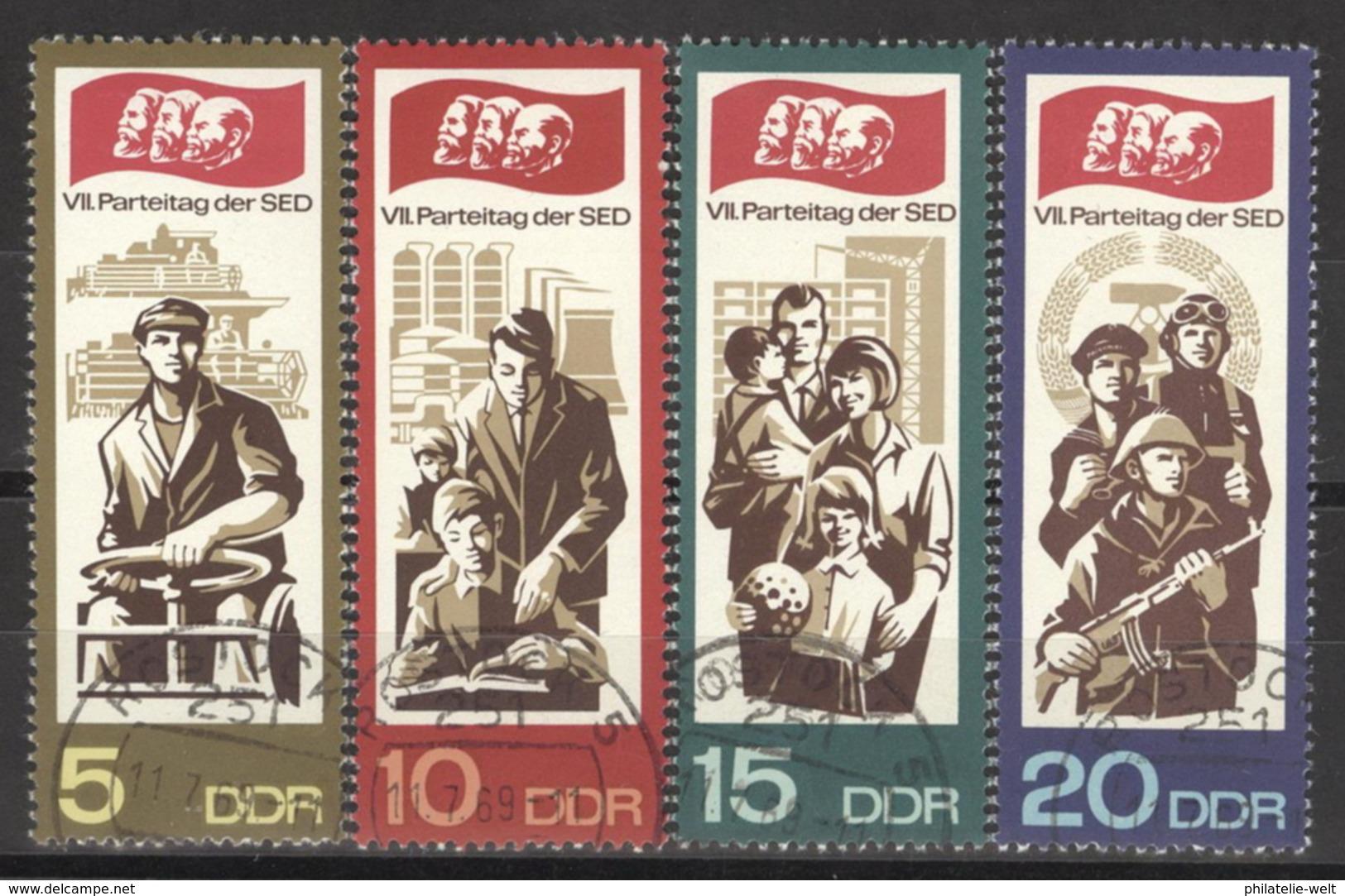 DDR 1268/71 O Tagesstempel - [6] République Démocratique