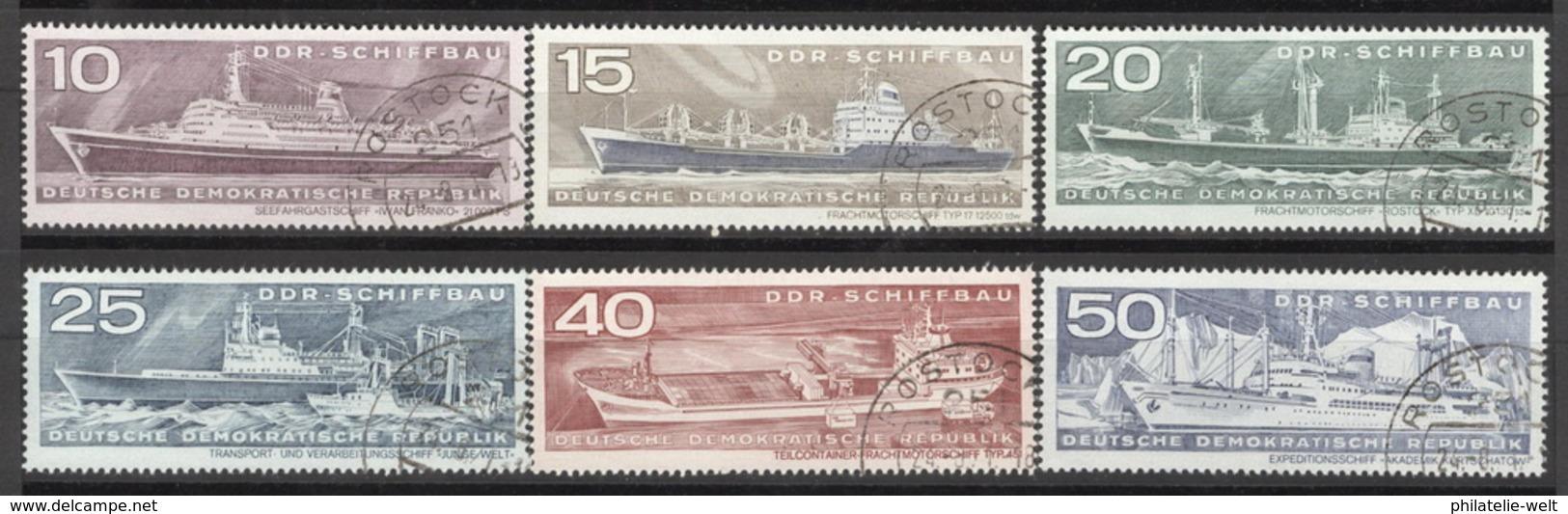 DDR 1693/98 O Tagesstempel - [6] République Démocratique
