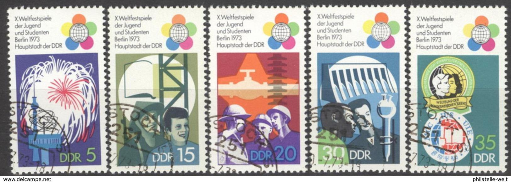 DDR 1862/66 O Tagesstempel - [6] République Démocratique