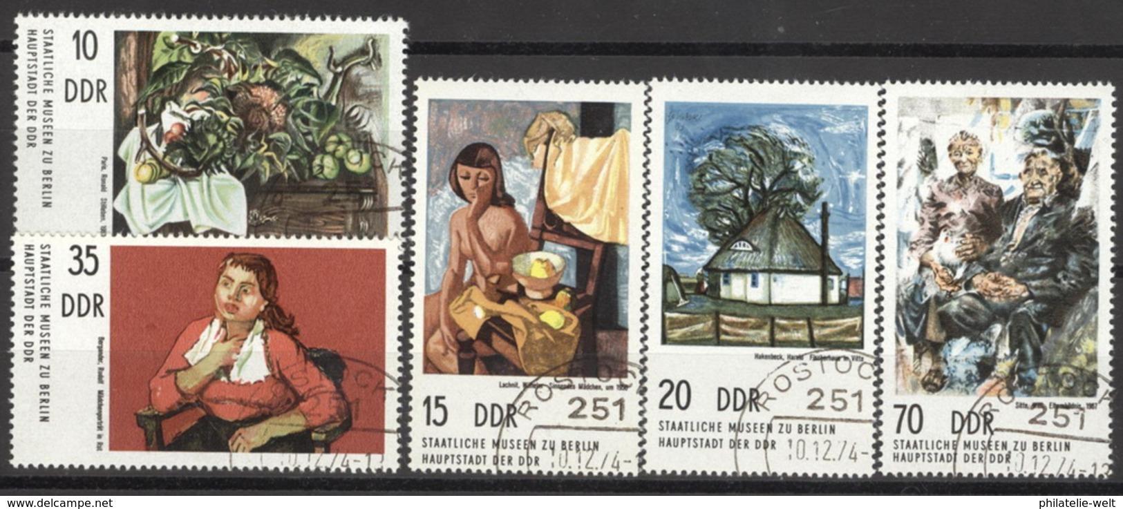 DDR 2001/05 O Tagesstempel - [6] République Démocratique