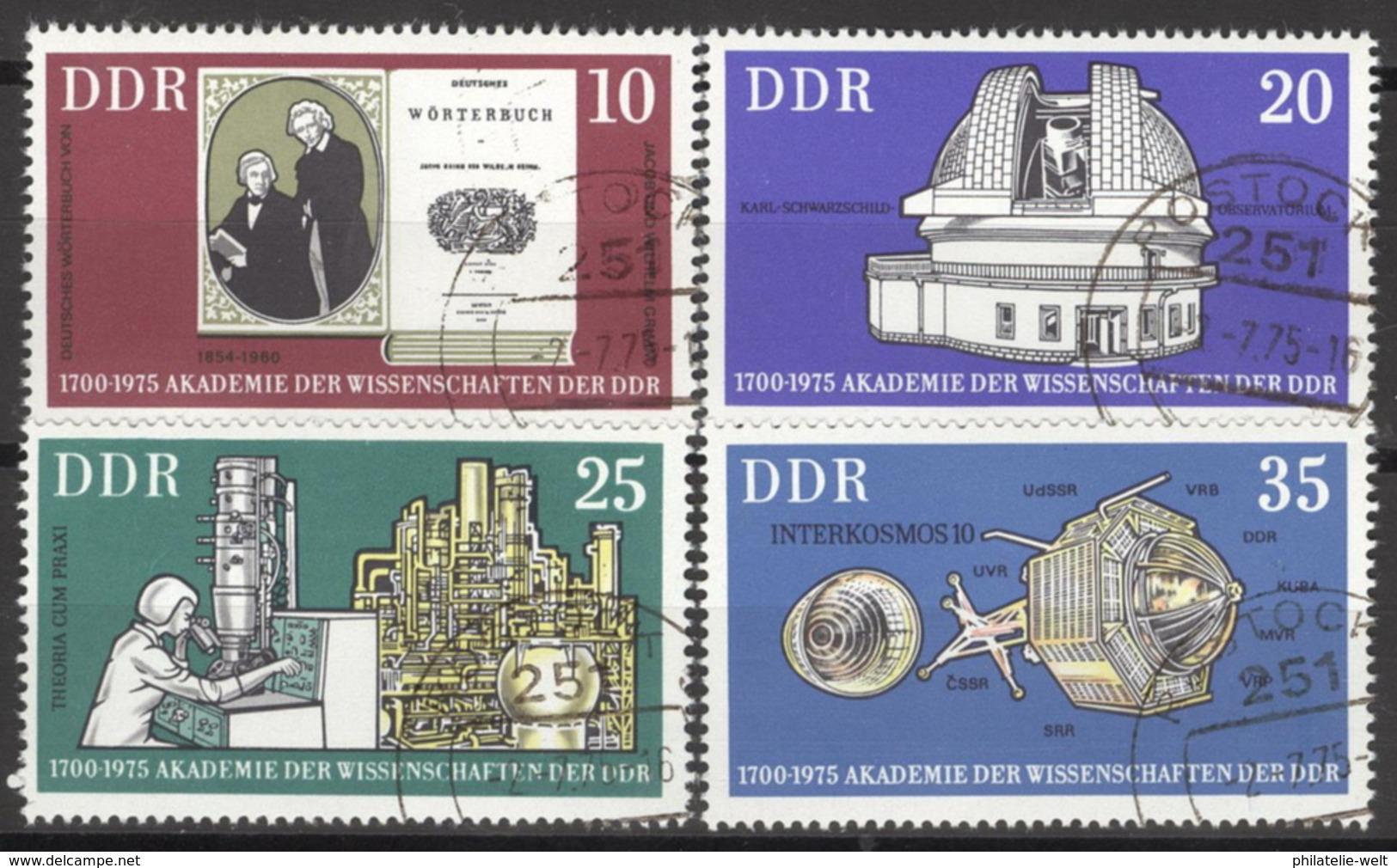 DDR 2061/64 O Tagesstempel - [6] République Démocratique