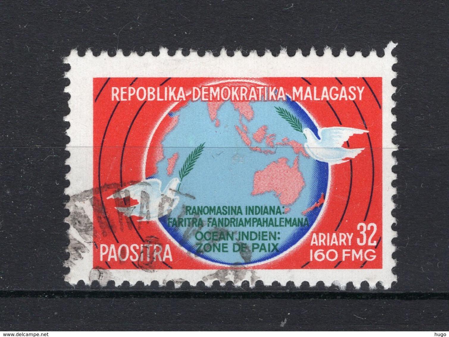MADAGASCAR Yt. 606° Gestempeld 1976 - Madagascar (1960-...)