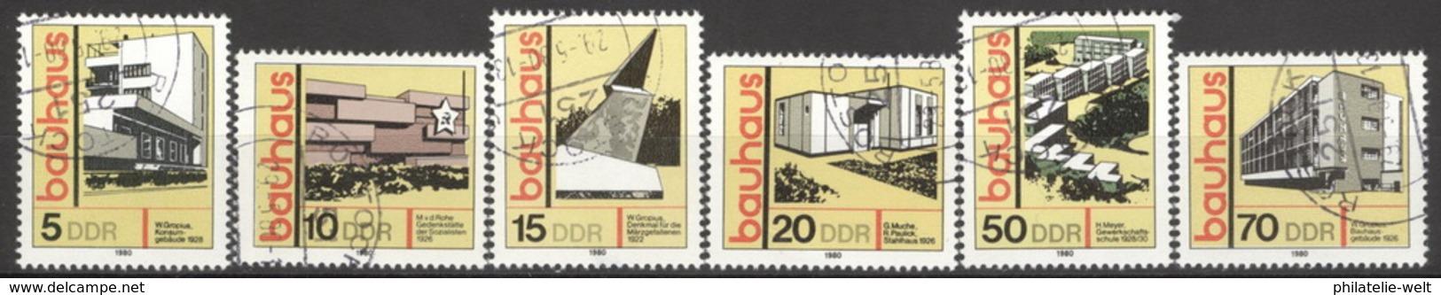 DDR 2508/13 O Tagesstempel - [6] République Démocratique