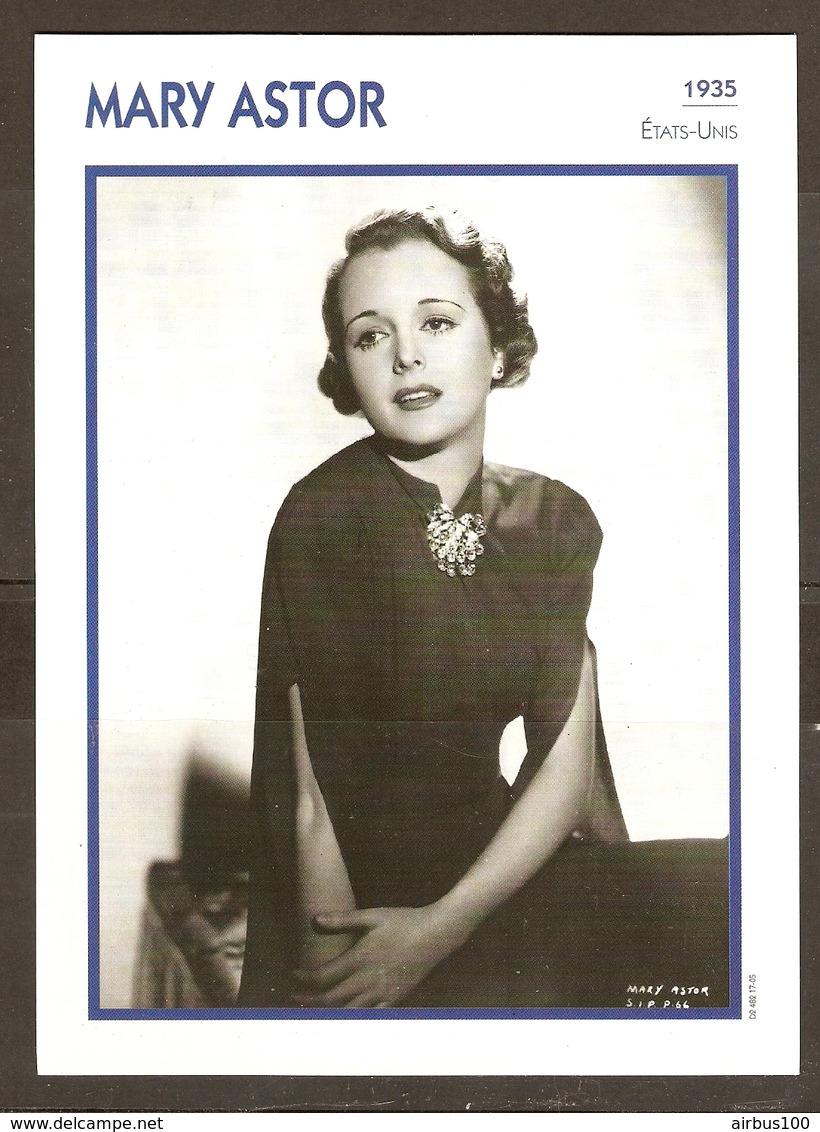 PORTRAIT DE STAR 1935 ETATS UNIS USA - ACTRICE MARY ASTOR - ACTRESS CINEMA - Fotos