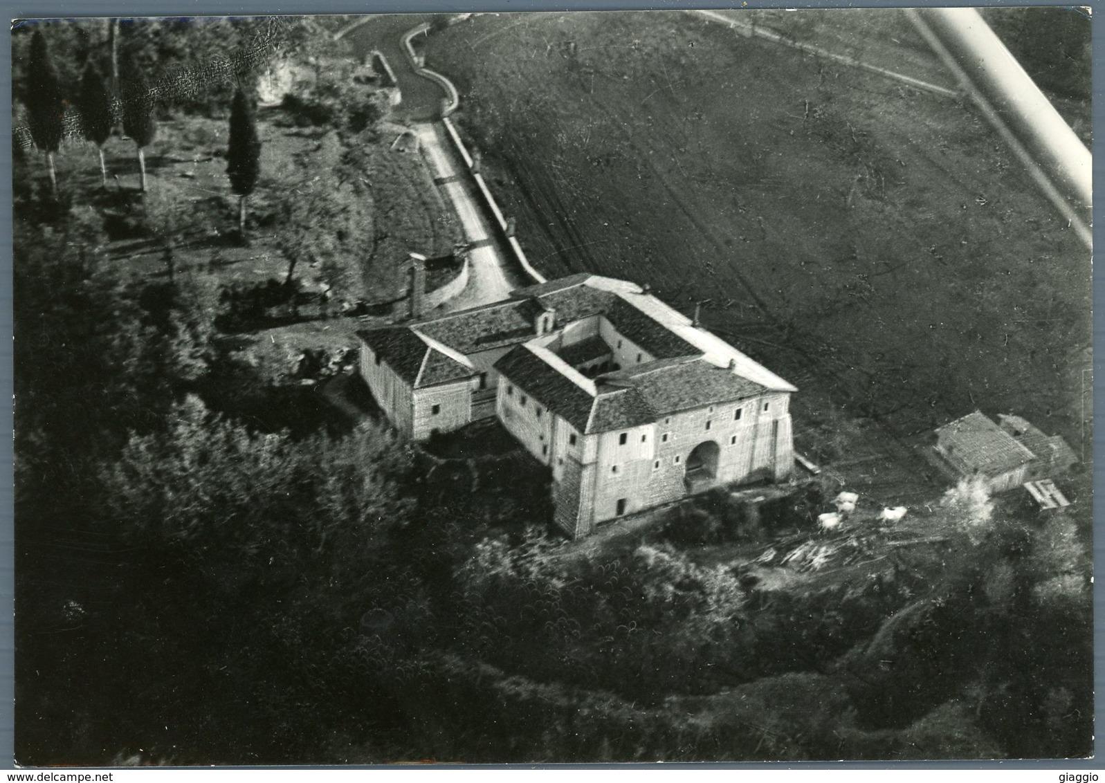 °°° Cartolina N. 80 Rieti Santuario Francescano (la Foresta) Visto Dall'aereo Nuova °°° - Rieti
