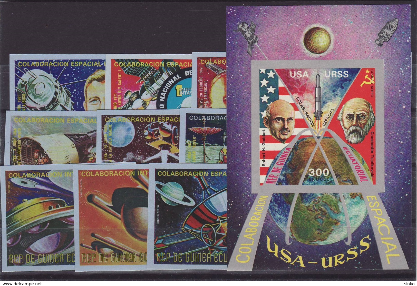1975. Equatorial Guinea - Space - Space