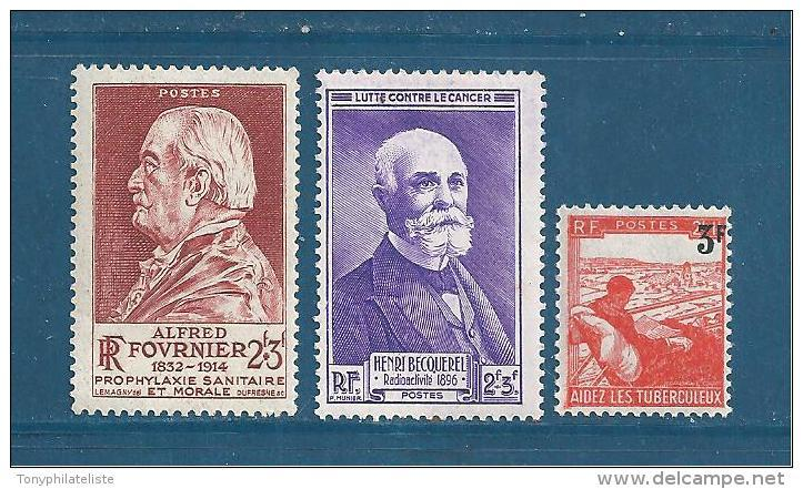 France Timbres De 1946 N°748 A 750  Neuf **  Sans Charniére - Unused Stamps