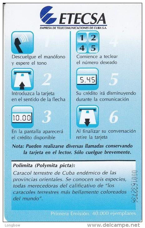 CUBA 23 Polimita - Cuba