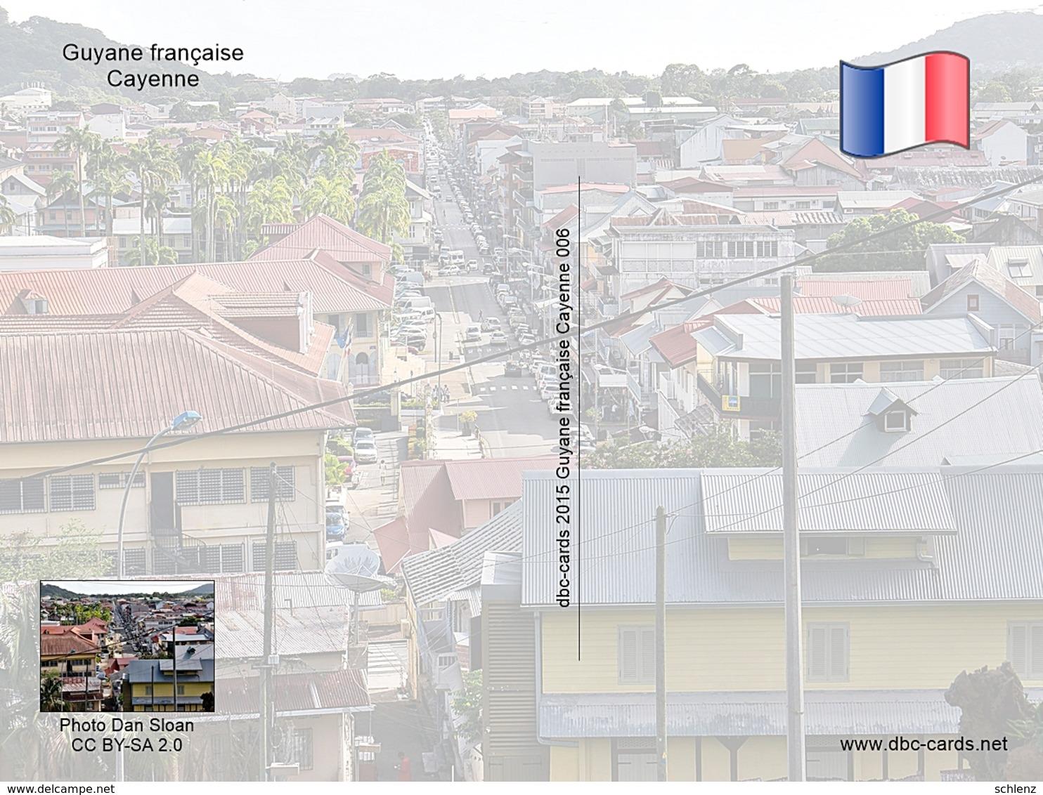 Cayenne Guyane Francaise 6 - Ansichtskarten