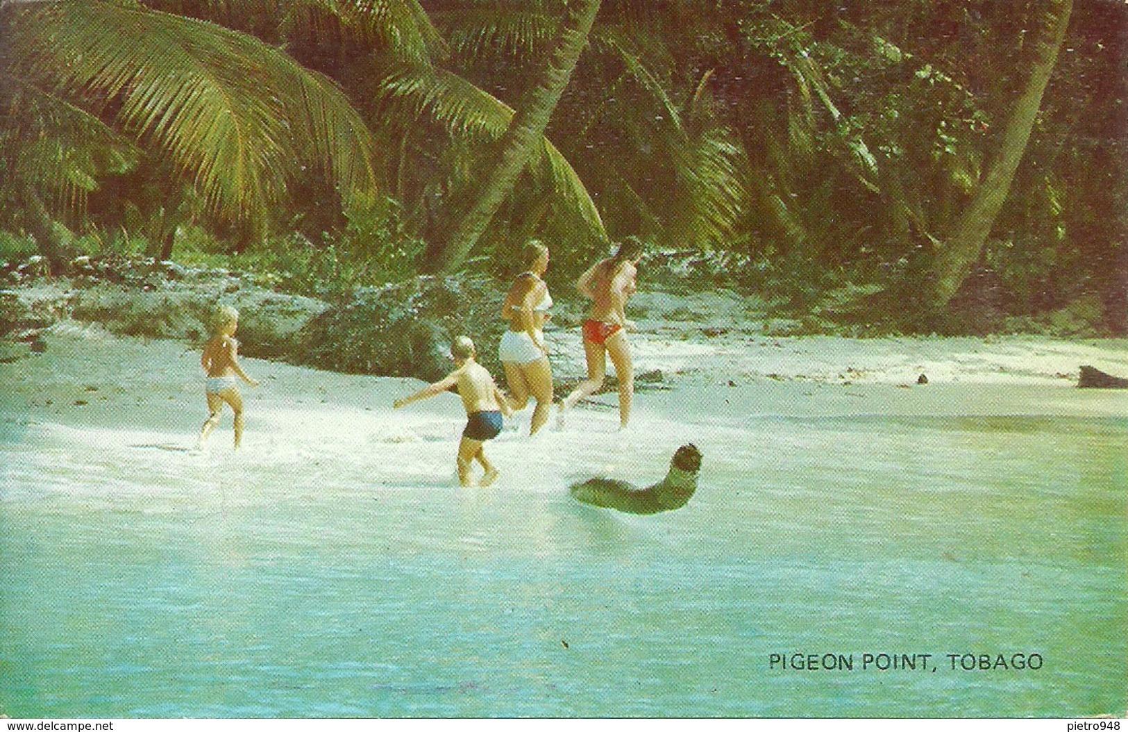 Tobago (Trinidad E Tobago) Pigeon Point, The Beach, La Plage, Spiaggia, Playa - Trinidad