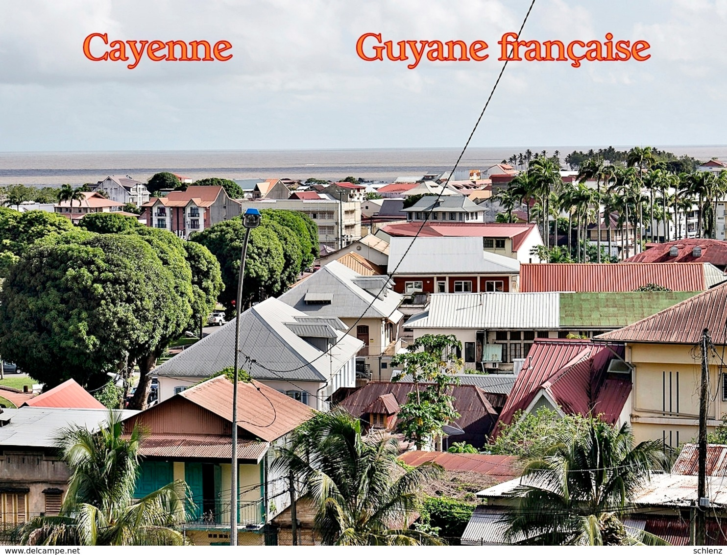 Cayenne Guyane Francaise 7 - Ansichtskarten