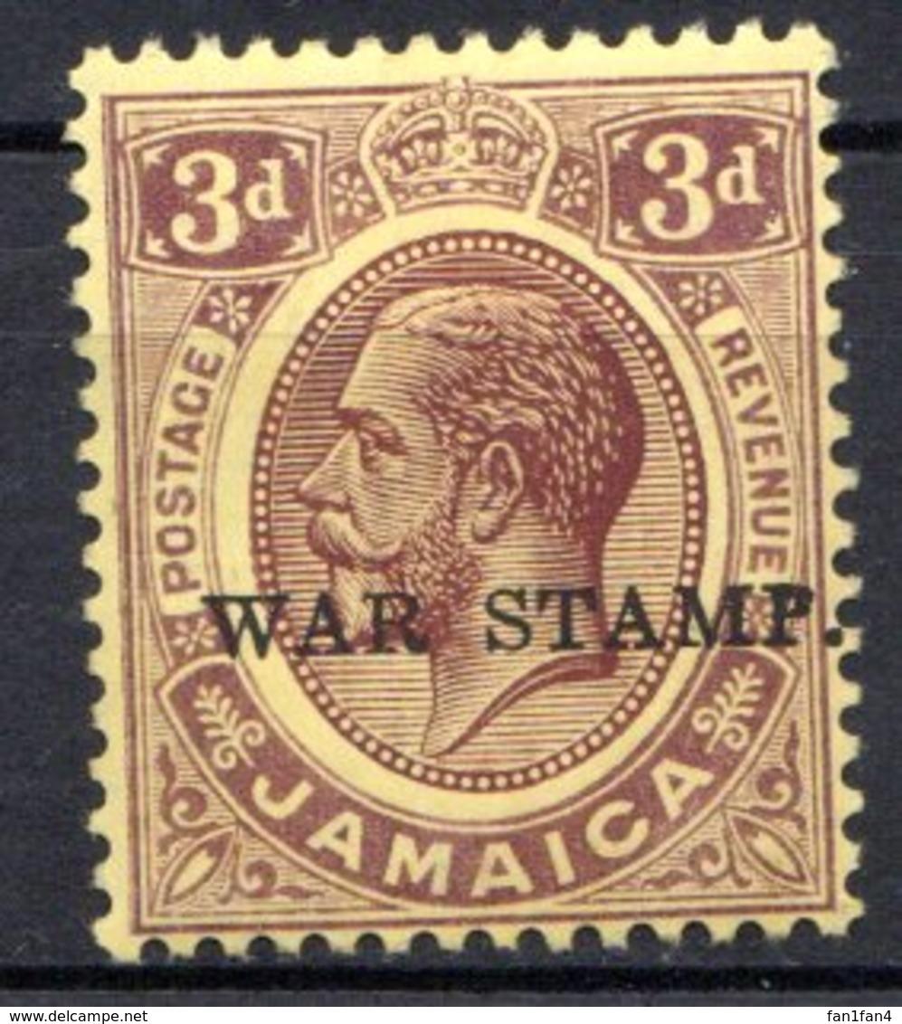 JAMAIQUE - (Colonie Britannique) - 1916 - N° 69 à 73 - (Lot De 4 Valeurs Différentes) - (George V Et Armoiries) - Jamaïque (...-1961)