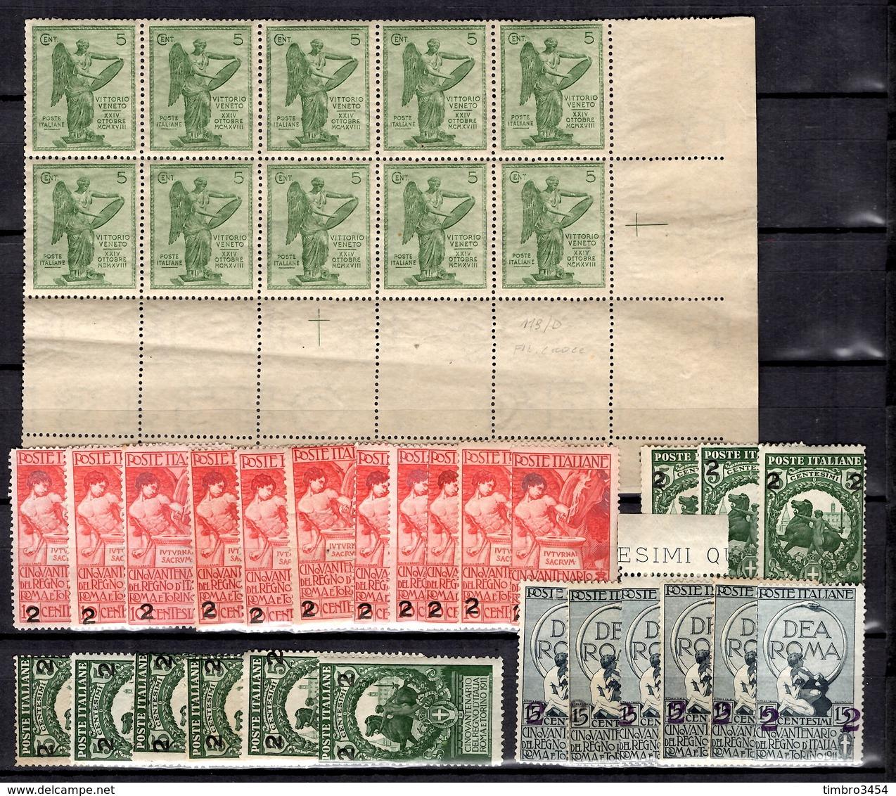 Italie Belle Collection D'anciens Neufs **/* 1890/1924. Bonnes Valeurs. B/TB - Italie