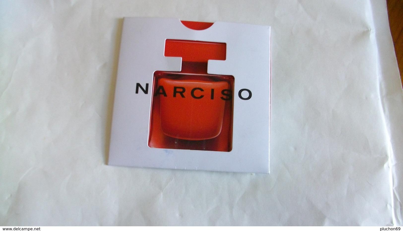 Carte Parfumée Narciso Rodriguez Nouvelle Eau De Parfum Rouge - Modern (from 1961)