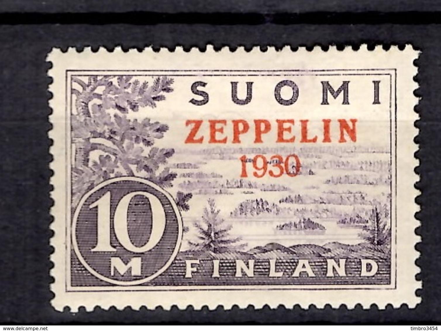 Finlande Poste Aérienne YT N° 1 Neuf *. B/TB. A Saisir! - Poste Aérienne