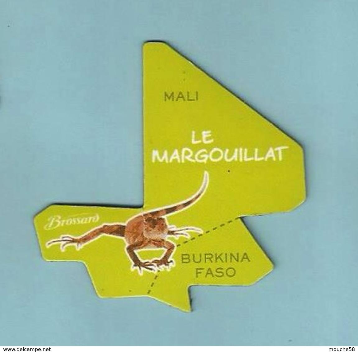 Magnet Brossard Collection Afrique Le Margouillat - Animaux & Faune