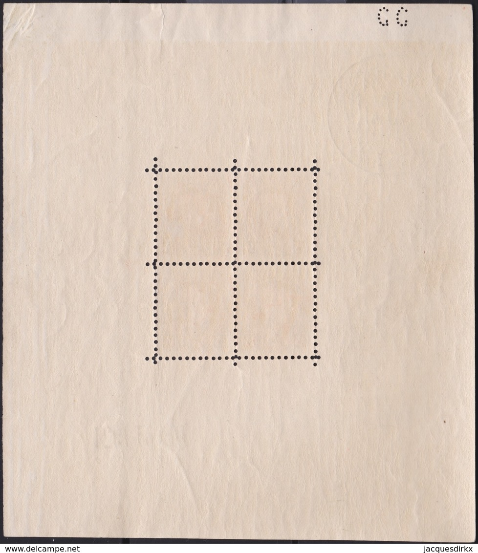 Belgie   .  OBP      .      Blok 1      .    **   .     Postfris    .  /   .  Neuf Sans Charniere - Blocks & Sheetlets 1924-1960