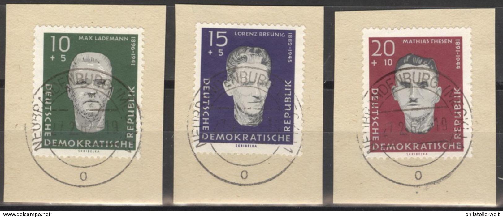 DDR 765/67 O Tagesstempel Auf Unterlage - [6] République Démocratique