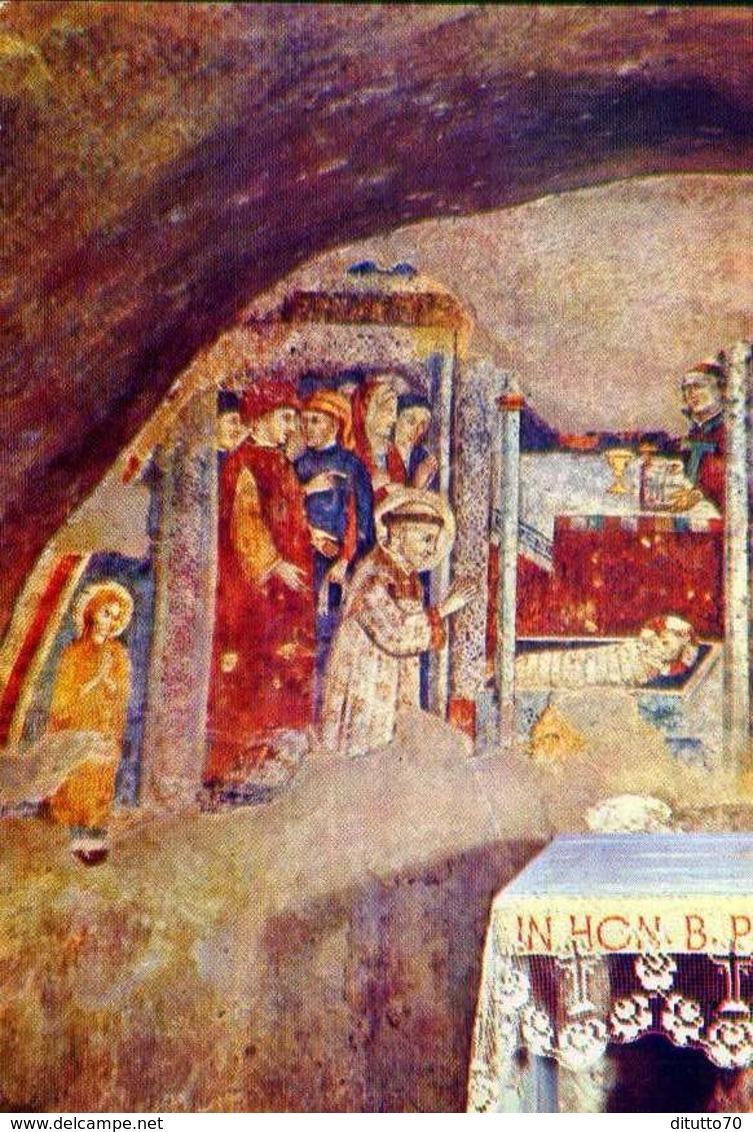 Santuario Francescano Del Presepio Greggio - Rieti - Grotta Del Santo Presepio - Formato Grande Non Viaggiata – E 12 - Rieti