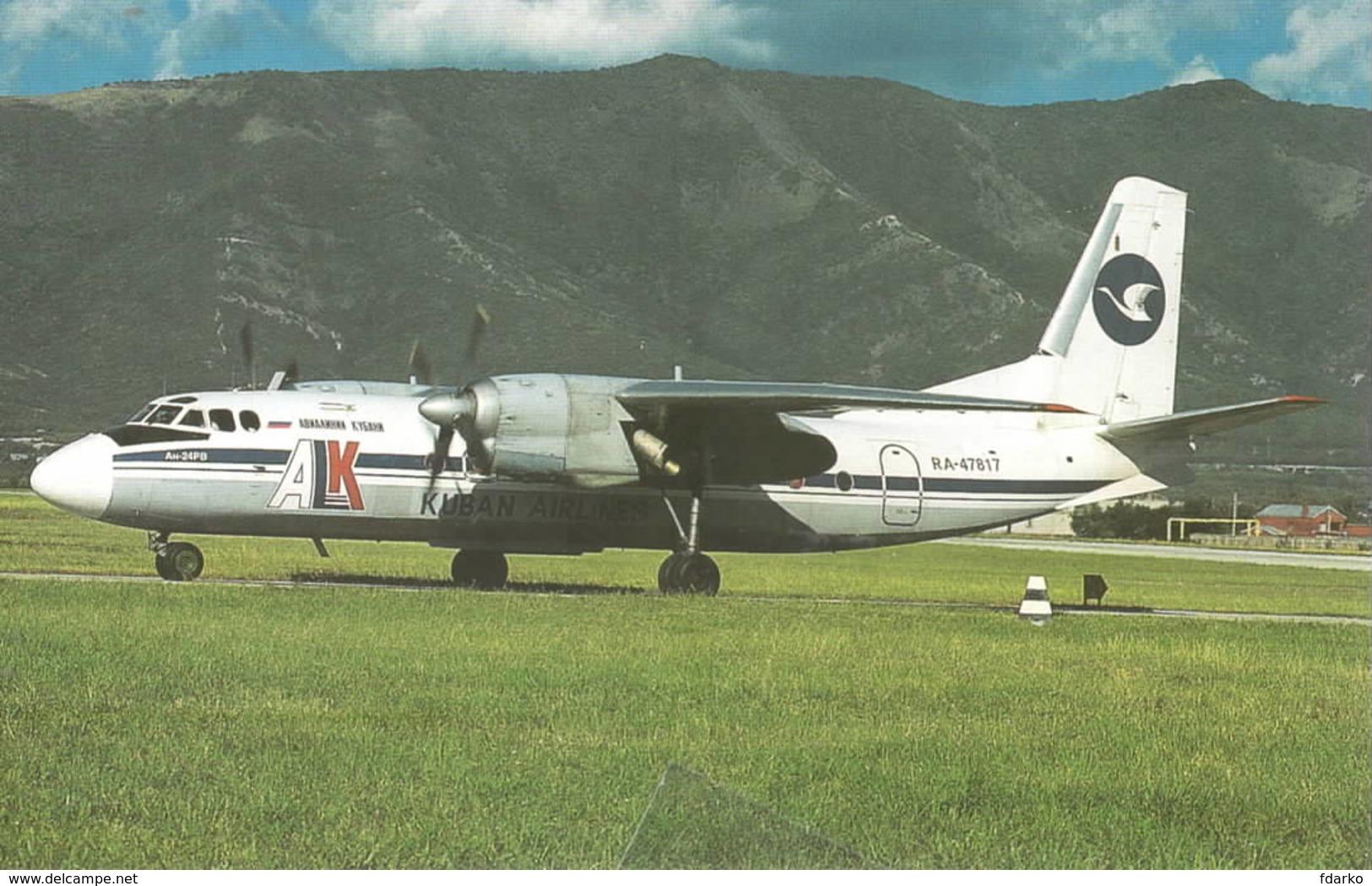 Kuban Airlines ALK Antonov AT-24RV RA-47817 Russia - 1946-....: Era Moderna