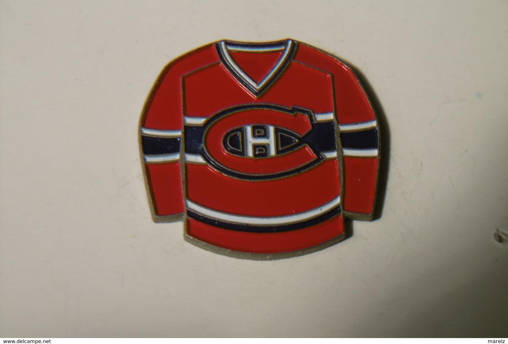 "Pin's - Sports Maillot - HOCKEY ""CH"" - Pin"