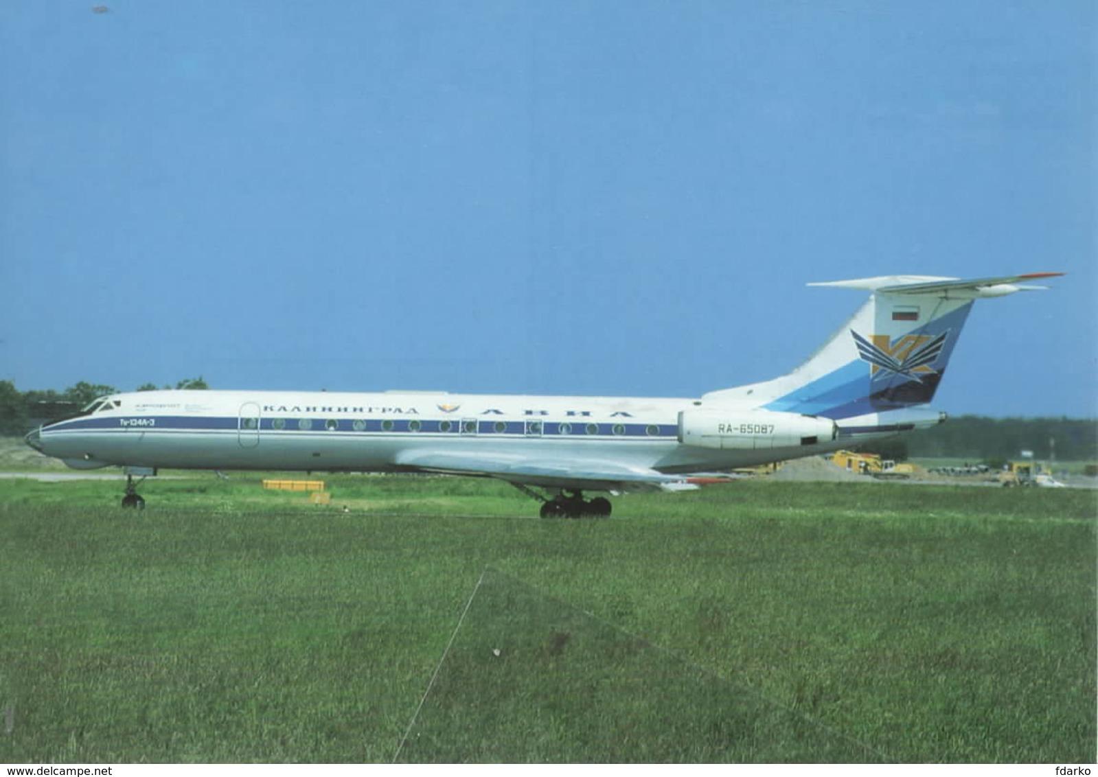 Kaliningrad Avia KLD Airlines Tupolev TU-134A-3 RA-65087 - 1946-....: Era Moderna