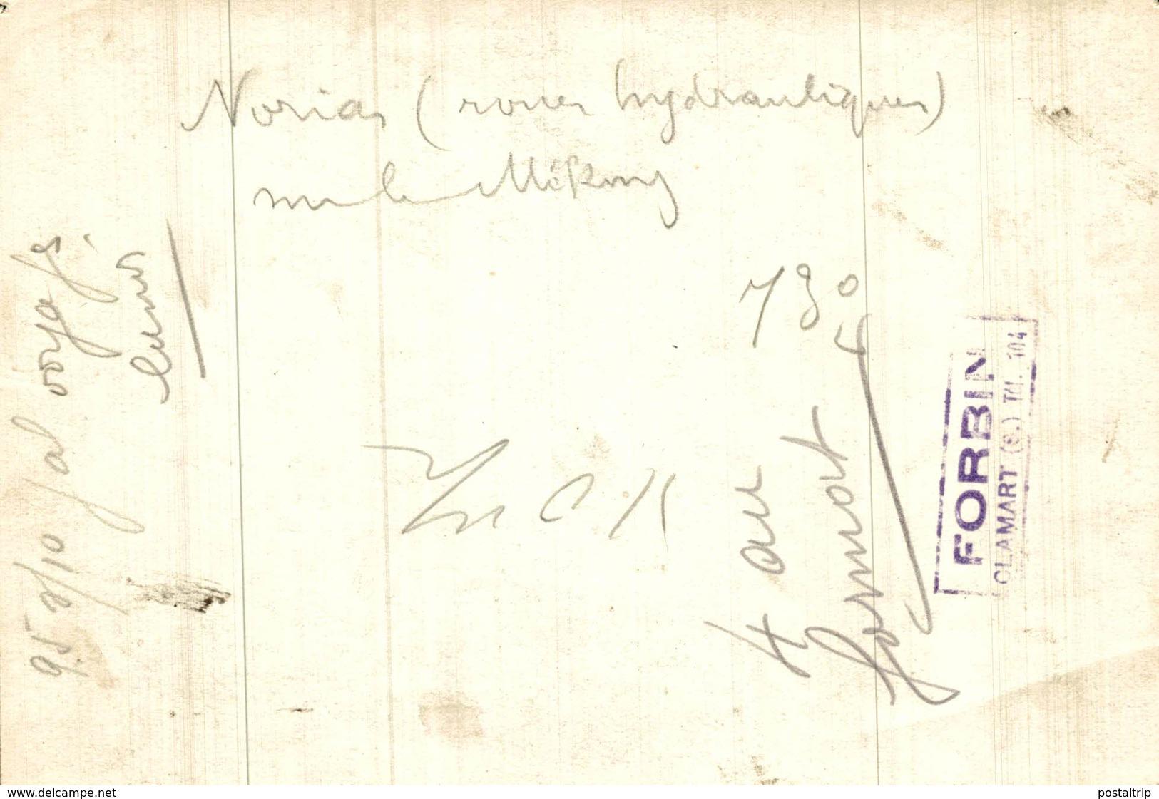 NURIAS NORIAS  INDOCHINE   17 * 12 CM Fonds Victor FORBIN 1864-1947 - Lugares