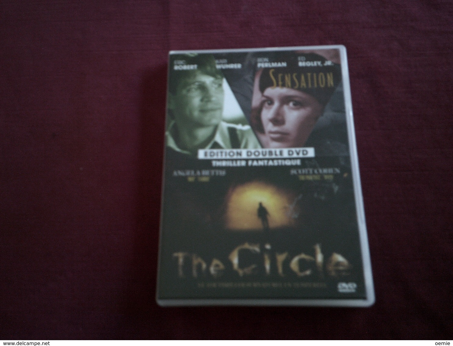 SENSATION +  THE CIRCLE   ////   2 DVD - Policiers