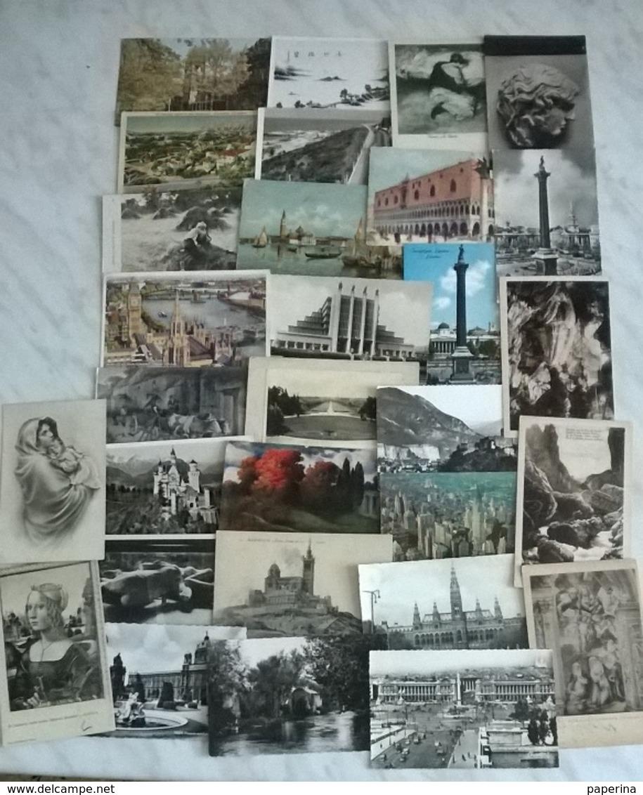 30 CART. MONDO (341) - Cartoline