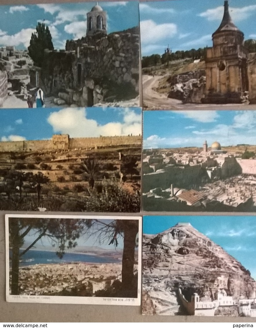 6  CART.  ISRAELE (352) - Cartoline