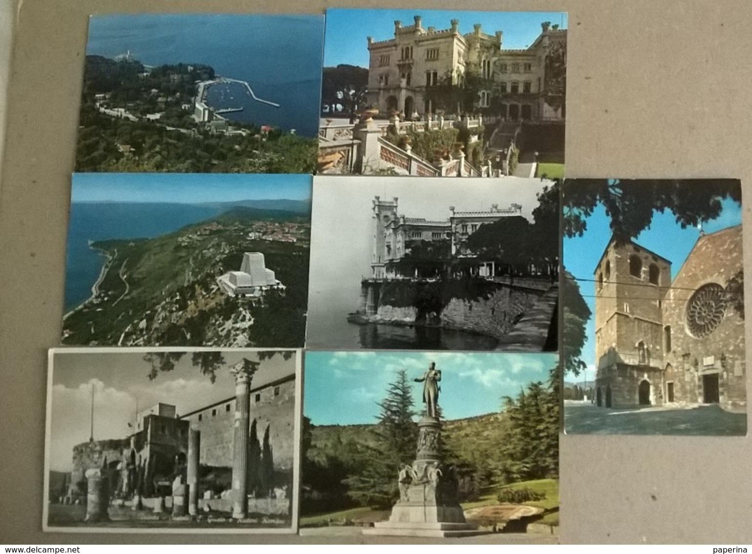 7  CART.  TRIESTE  (353) - Cartoline