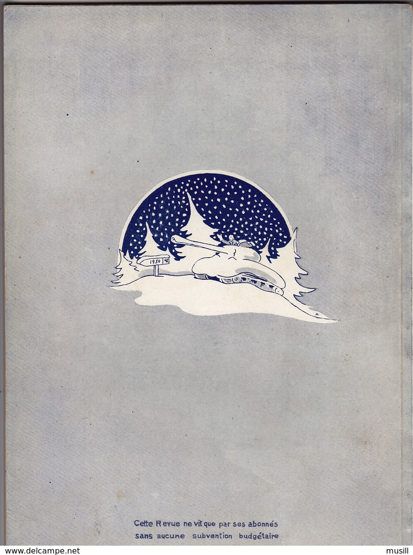 Revue De La 5e Division Blindée. Noël 1949 - Militaria