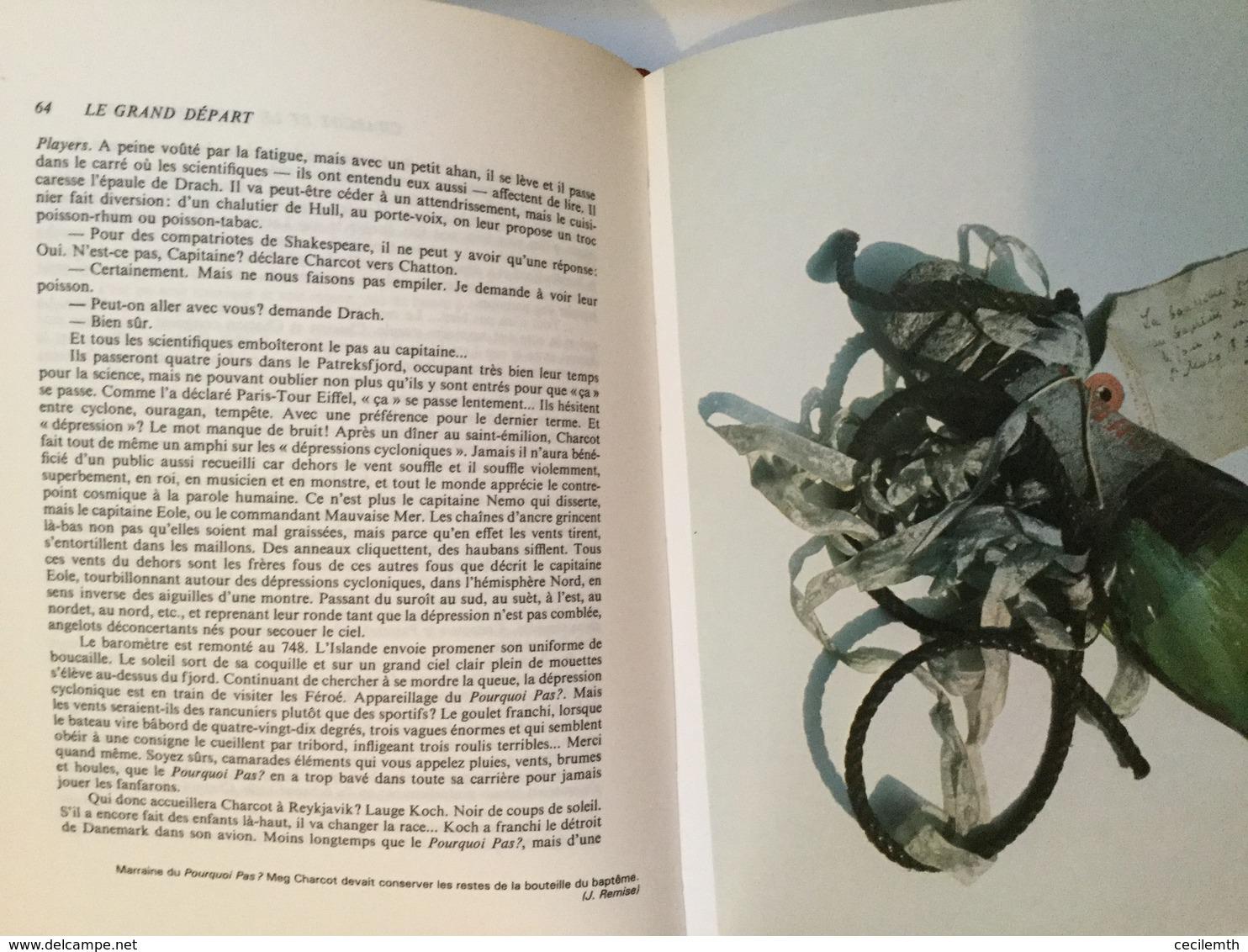 Le Grand Départ : Charcot Et Le Pourquoi Pas ? - Henri QUEFFELEC (1978) - Histoire