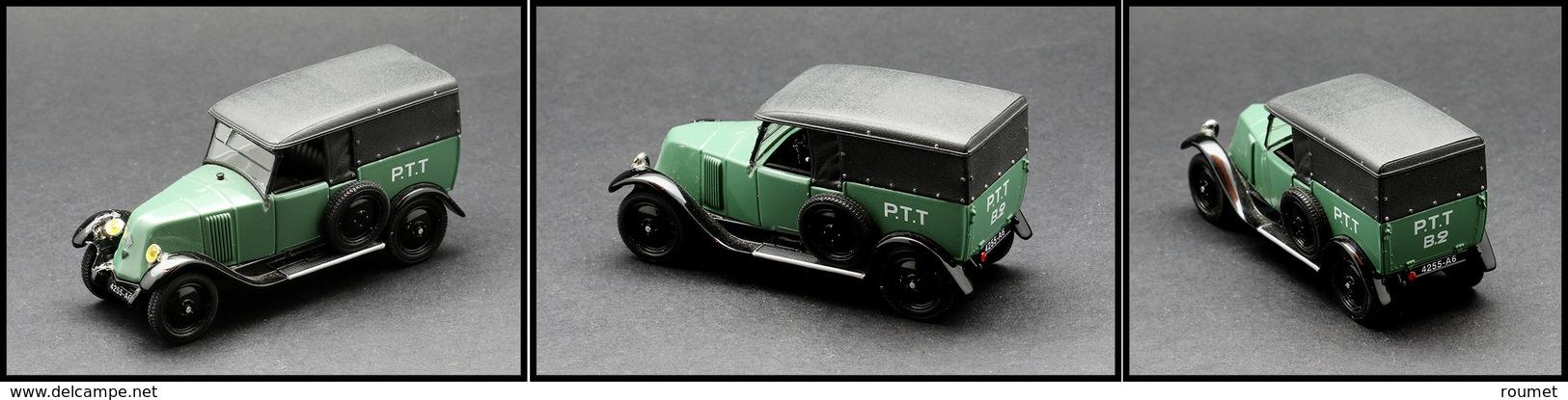 "Voiture ""Renault NN 1927"", éd. Universal Hobbies. - TB - Boites A Timbres"
