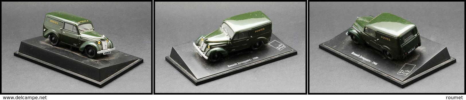 """Voiture """"Renault Juvaquatre 1946"""", éd. Musée De La Poste. - TB - Boites A Timbres"""