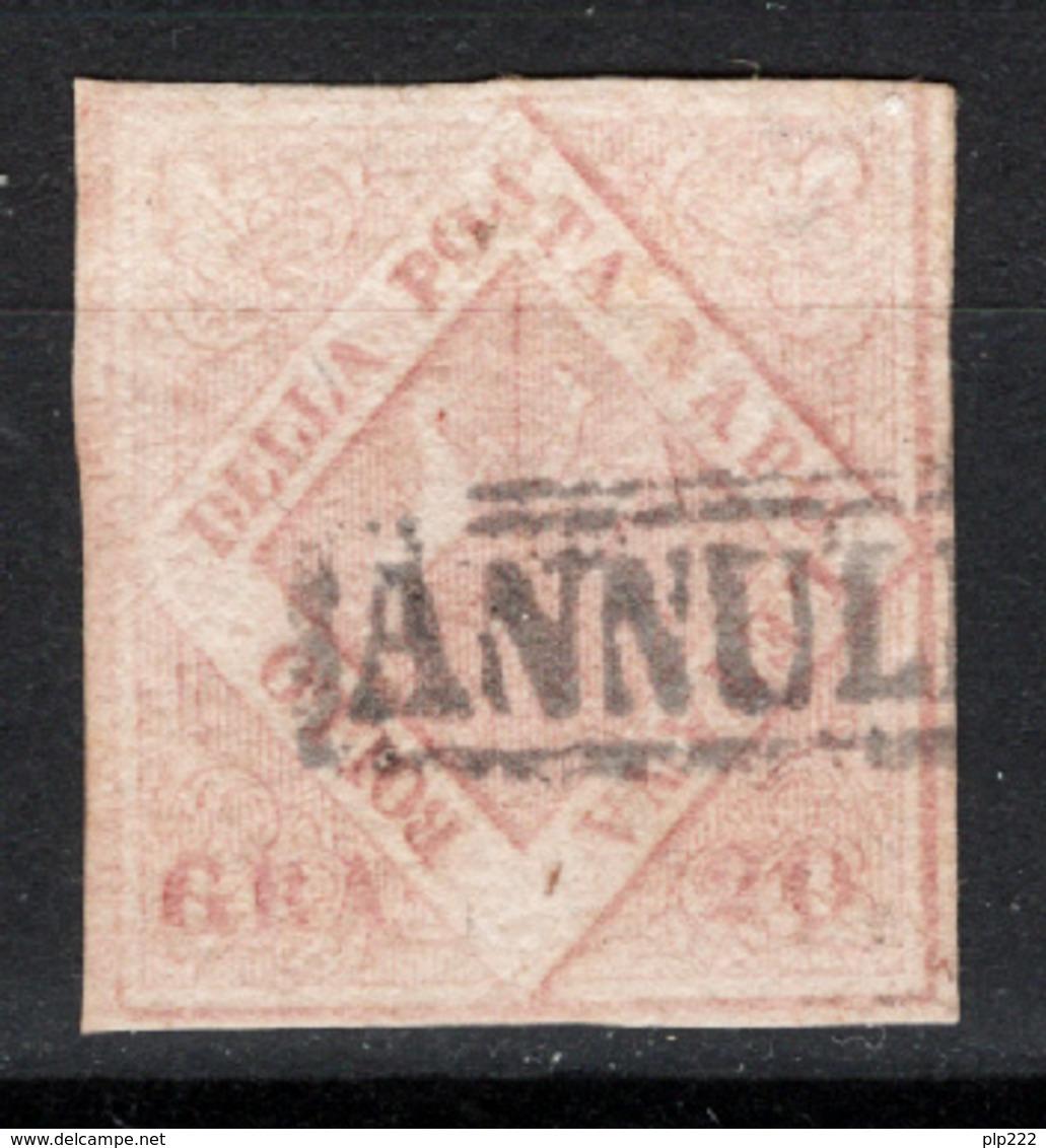 Napoli 1858 Sass.13 O/Used VF/F - Napoli