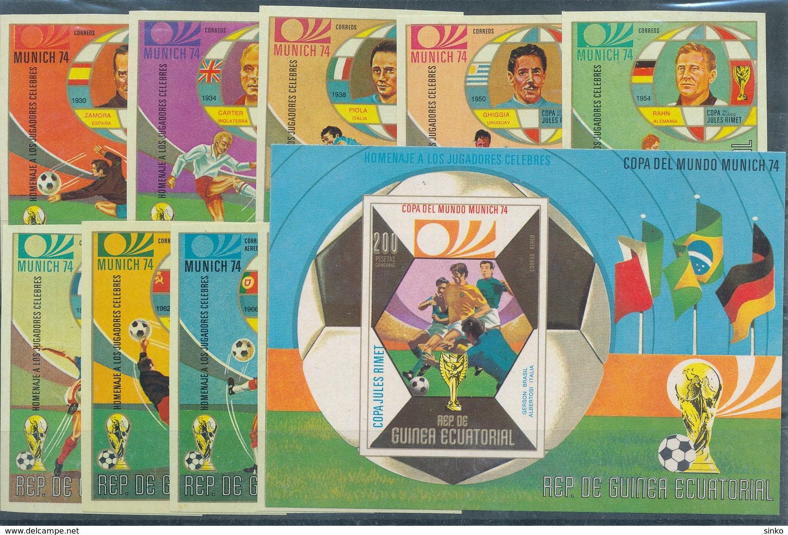 1974. Equatorial Guinea - World Cup Munich - Fußball-Weltmeisterschaft