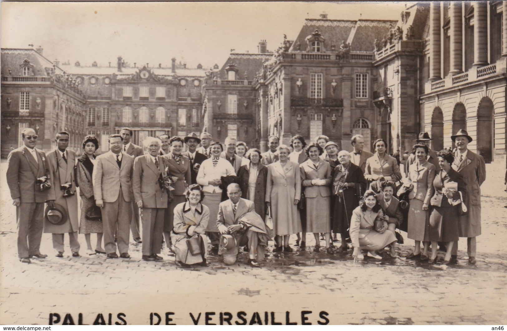 PALAIS DE VERSAILLES PARIGI  FOTO AUTENTICA 100% - Fotografia