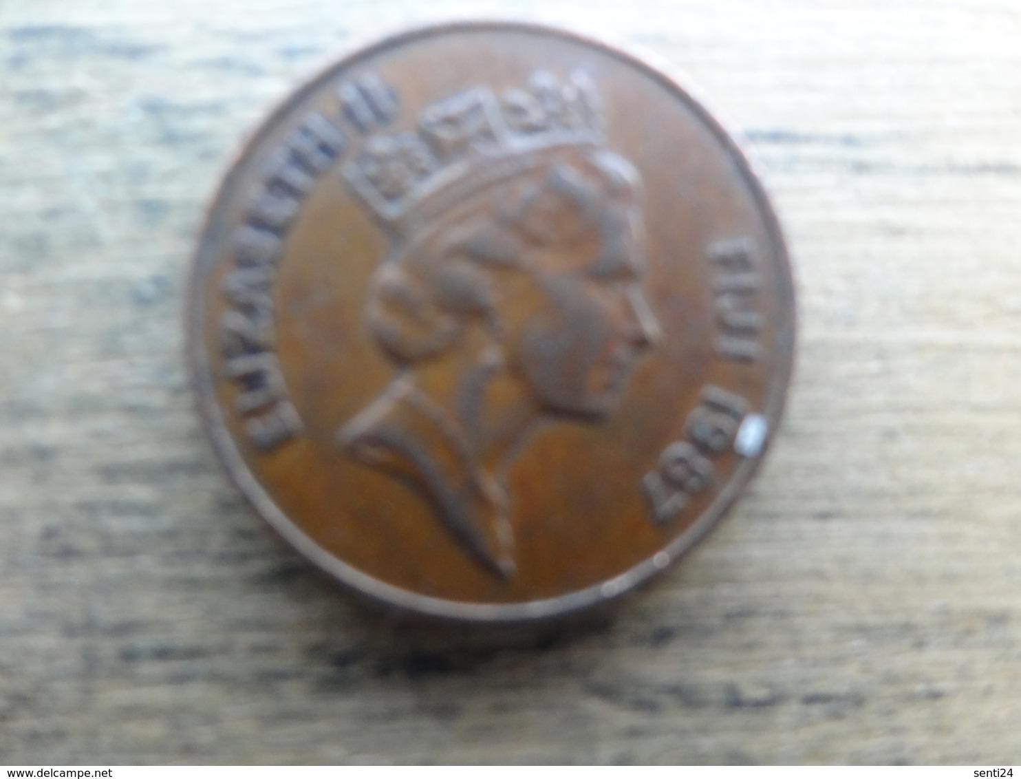 Fidji  2  Cents  1987  Km 50 - Figi