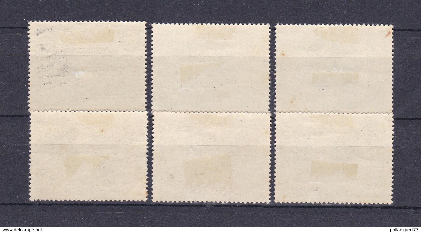 Deutsches Reich - 1943 - Michel Nr. 844/849 - Ungebr. - Deutschland