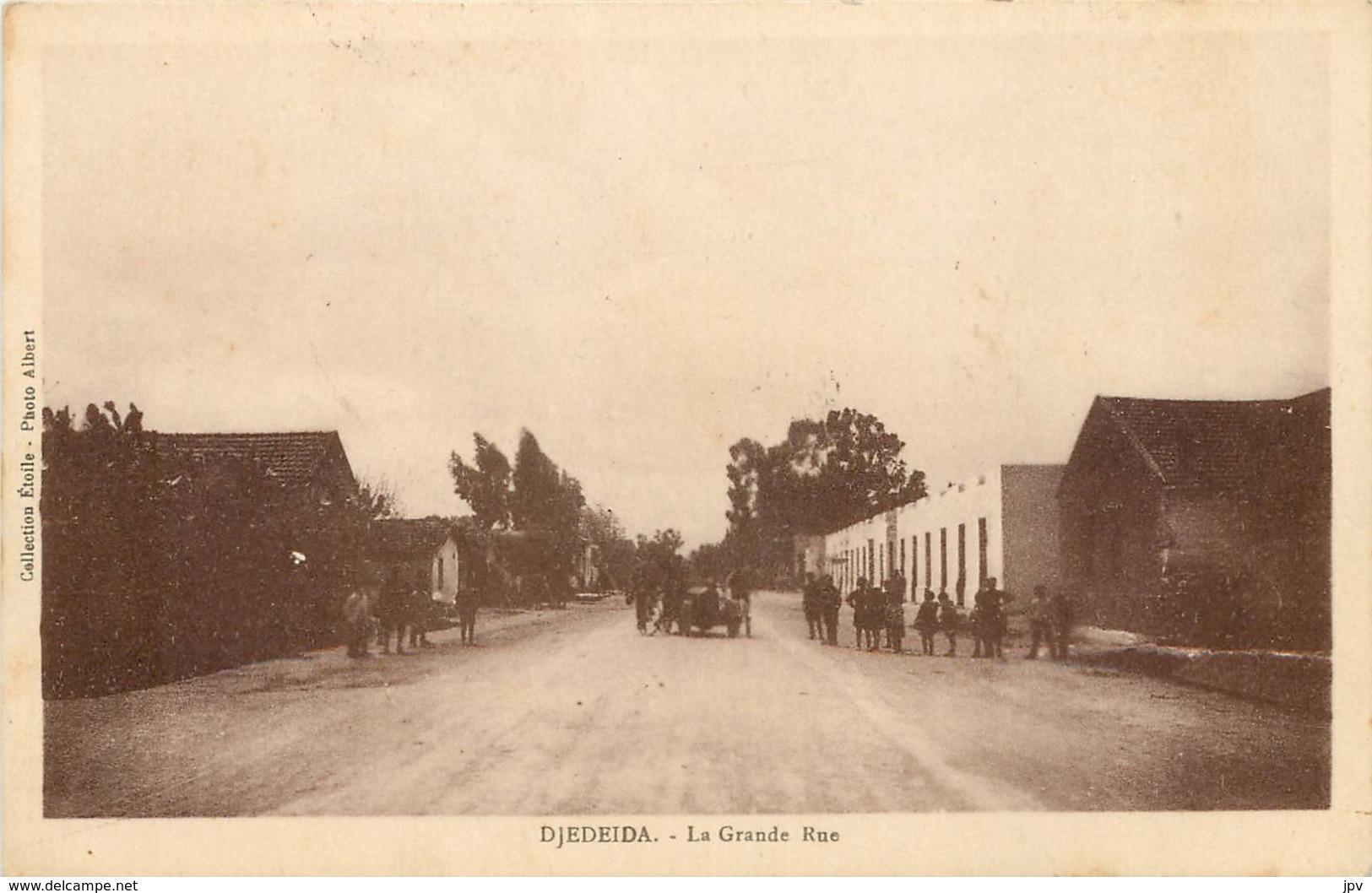 DJEDEIDA - La Grande Rue - Tunisie