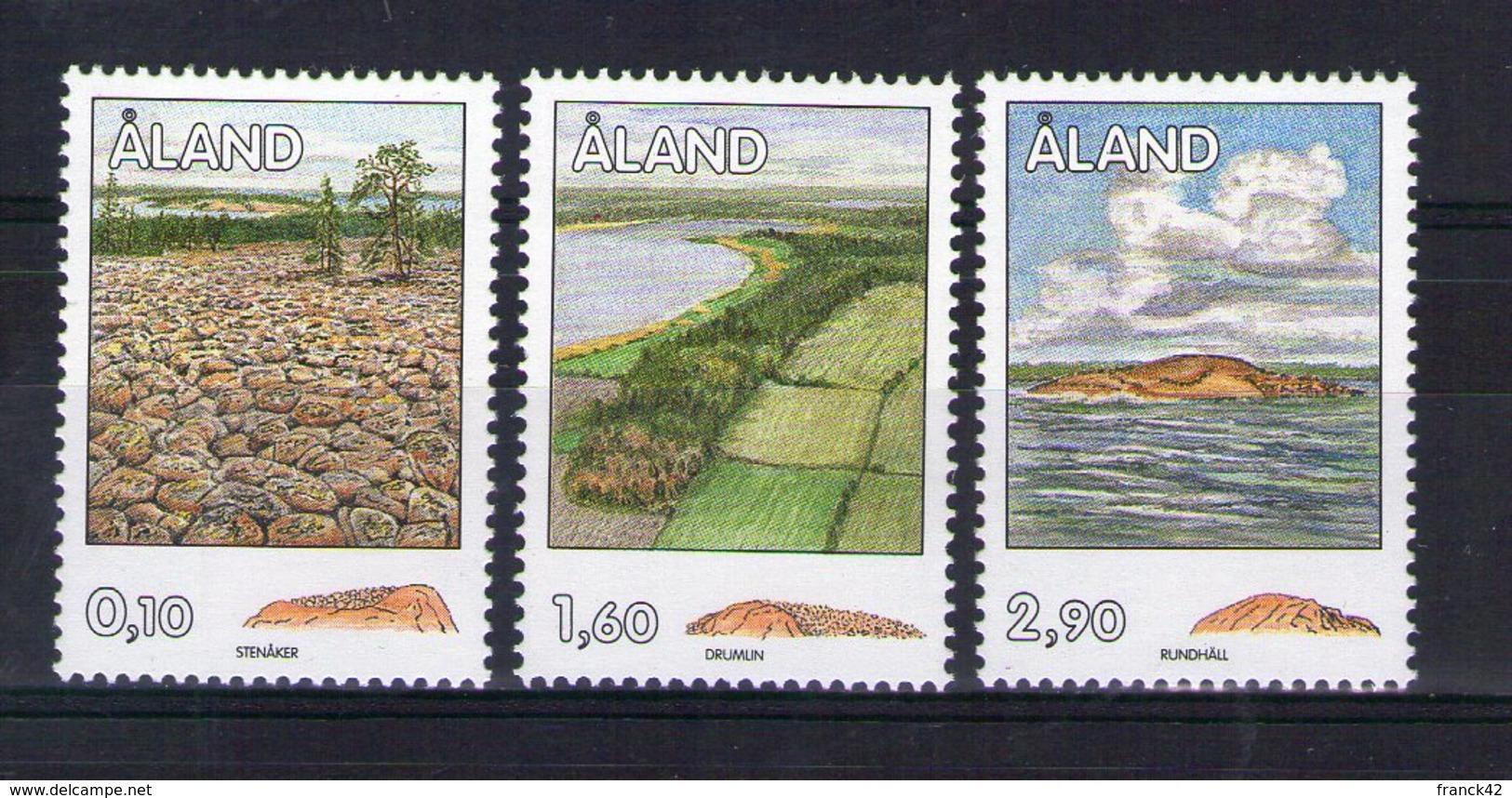 Aland. Structures Rocheuses De L'époque Glaciaire - Aland