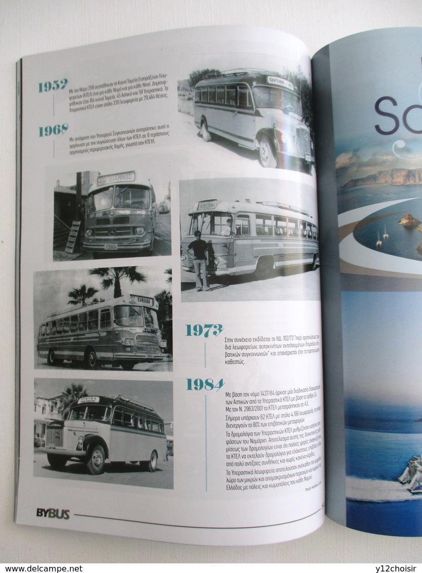 REVUE MAGAZINE BYBUS JUIN 2019 HISTORIQUE AUTOCARS BUS AUTOBUS EN GRECE CRETE - Transports